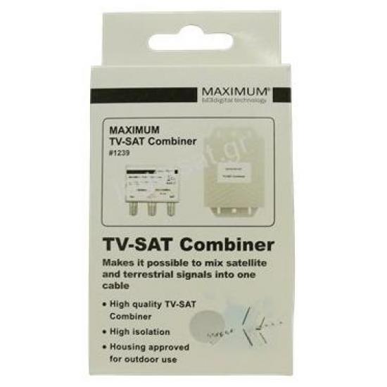 MAXIMUM TV-SAT Combiner #1239
