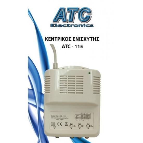 CENTRAL AMPLIFIER ATC-115 UHF / VHF 35DB / 30DB