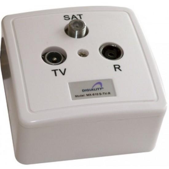 Digiality SATV MX-610 S-TV-R