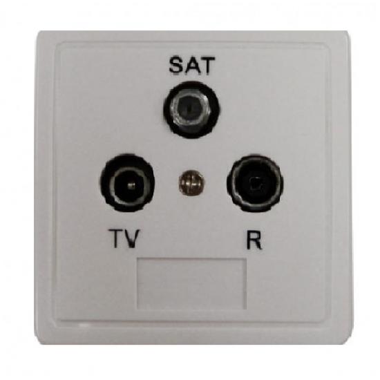 Engel socket terminal TV-SAT-R MP7652