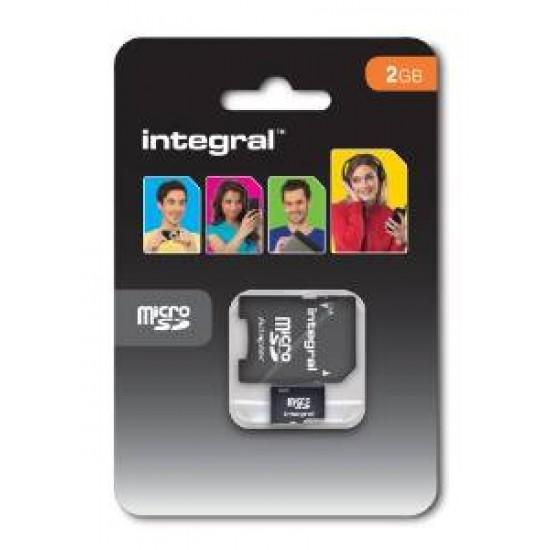 INTEGRAL MEMORY CARD MICROSC 2GB