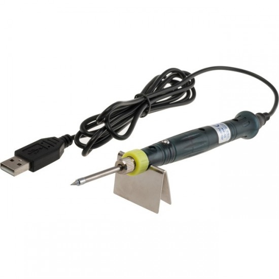 Portable USB Solder - Adhesive 5V-8W with Mounting Base